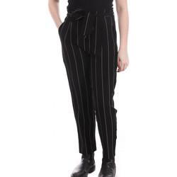 Textil Mulher Calças Teddy Smith  Preto