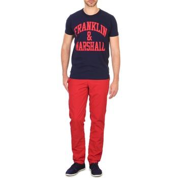 Textil Homem Chinos Franklin & Marshall GLADSTONE Vermelho