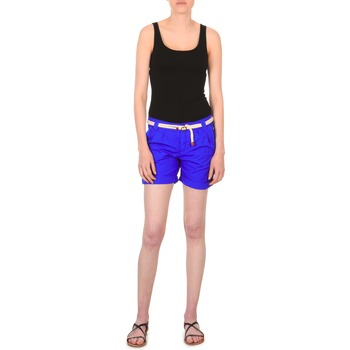 Textil Mulher Shorts / Bermudas Franklin & Marshall CALOUNDRA Azul