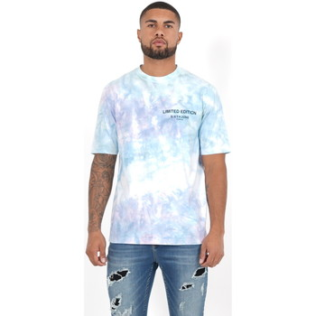 Textil Homem Polos mangas compridas Sixth June T-shirt  Custom Tie Dye noir