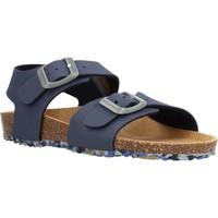 Sapatos Rapaz Sandálias Garvalin 212663 Azul