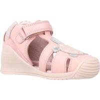 Sapatos Rapariga Sandálias Biomecanics 212109 Rosa