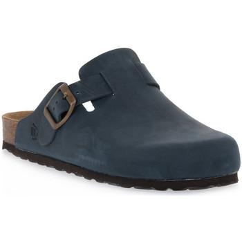 Sapatos Tamancos Bioline 1900 BLU INGRASSATO Blu
