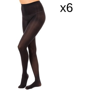 Roupa de interior Mulher Meia calça / Meias de liga Marie Claire Pack-6 Pantys Opac 50 Den Preto