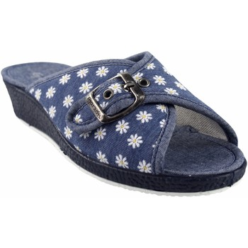 Sapatos Mulher Chinelos Garzon Vá para casa Sra.  753.140 azul Azul