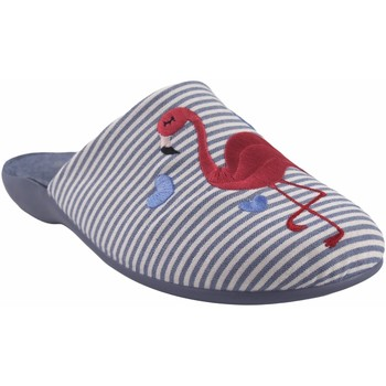 Sapatos Mulher Chinelos Garzon Vá para casa Sra.  7351.161 azul Vermelho