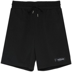 Textil Homem Shorts / Bermudas Sixth June Short  Mesh Logo noir