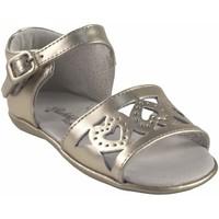 Sapatos Rapariga Sandálias Bubble Bobble Sapato de menina  a2956 ouro Prata