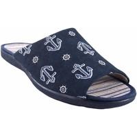 Sapatos Homem Chinelos Garzon Passe em casa cavalheiro  6975.133 azul Azul