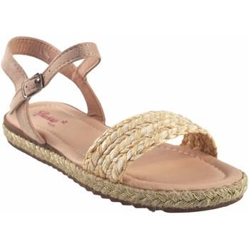 Sapatos Rapariga Sandálias Bubble Bobble menina  a3048 bege Branco