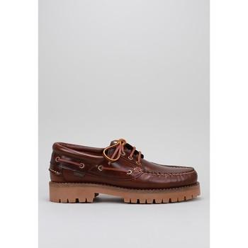 Sapatos Homem Sapato de vela CallagHan  Castanho