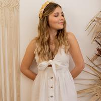 Textil Mulher Vestidos compridos Céleste CAMOMILLE Branco