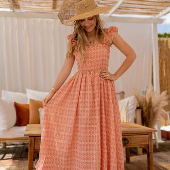 Textil Mulher Vestidos compridos Céleste AURORE Rosa