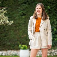 Textil Mulher Casacos/Blazers Céleste ALIZE Bege