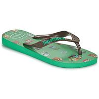 Sapatos Rapaz Chinelos Havaianas KIDS MINECRAFT Verde