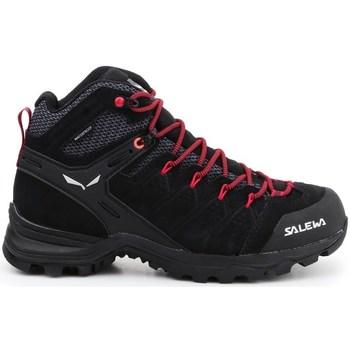 Sapatos Mulher Sapatos de caminhada Salewa WS Alp Mate Mid WP Preto