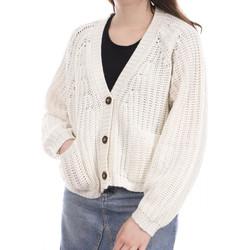 Textil Mulher Casacos de malha Teddy Smith  Branco