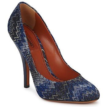 Sapatos Mulher Escarpim Missoni VM005 Azul