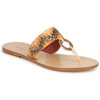 Sapatos Mulher Chinelos Missoni VM048 Laranja