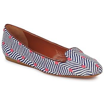 Sapatos Mulher Mocassins Missoni VM036 Azul / Rosa