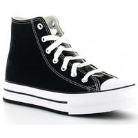 Sapatos Rapariga Sapatilhas de cano-alto Converse 671107C CTAS EVA LIFT Noir