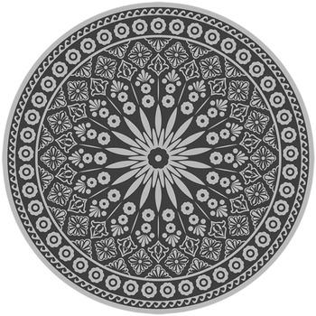 Casa Tapetes Esschert Design Tapete de exterior Cinzeto