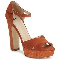 Sapatos Mulher Sandálias JFK  Laranja