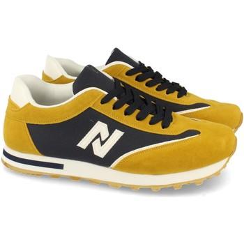 Sapatos Homem Sapatilhas Kalasity EV902 Amarillo