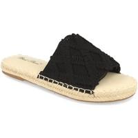Sapatos Mulher Chinelos Milaya 2S24 Negro