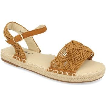Sapatos Mulher Sandálias Milaya 2S25 Camel