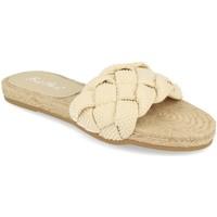 Sapatos Mulher Chinelos Milaya 2S31 Beige