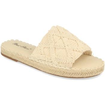 Sapatos Mulher Chinelos Milaya 2S24 Beige