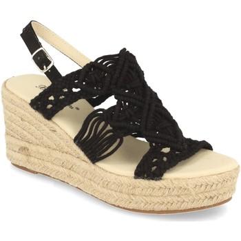 Sapatos Mulher Sandálias Milaya 5S3 Negro