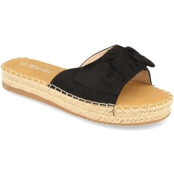 Sapatos Mulher Chinelos Prisska YJ8382 Negro