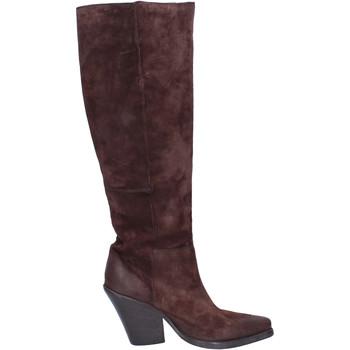 Sapatos Mulher Botas Moma BJ638 Castanho