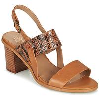 Sapatos Mulher Sandálias Karston LIMEY Camel