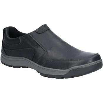 Sapatos Homem Mocassins Hush puppies  Preto