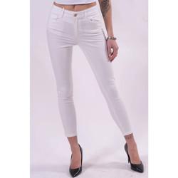 Textil Mulher Calças Fracomina FR21SP2002W40101 Branco