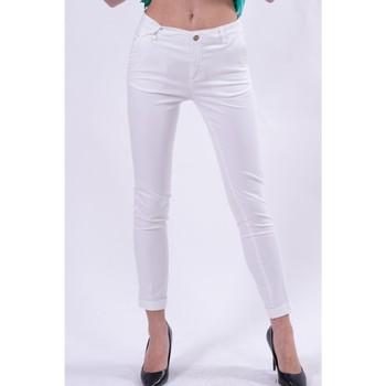 Textil Mulher Chinos Fracomina FR21SP3004W40101 Branco