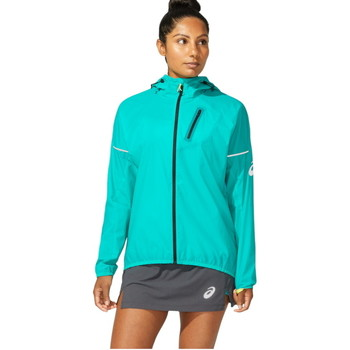 Textil Mulher Sweats Asics FujiTrail Pack Jkt Vert