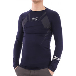 Textil Homem T-shirt mangas compridas Hungaria  Azul