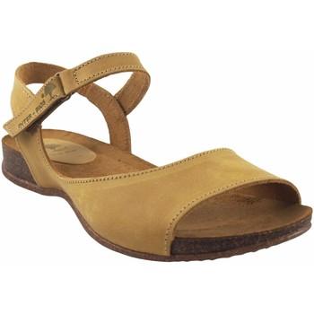 Sapatos Mulher Sandálias Interbios Sandália de senhora  4458 mostarda Amarelo