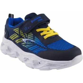 Sapatos Rapaz Multi-desportos Bubble Bobble Sport boy  a3213 azul Branco