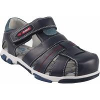 Sapatos Rapaz Sandálias Bubble Bobble Sport boy  a2384 azul Azul