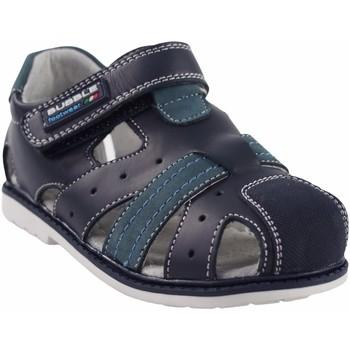 Sapatos Rapaz Sandálias desportivas Bubble Bobble Sport boy  a2381 azul Azul