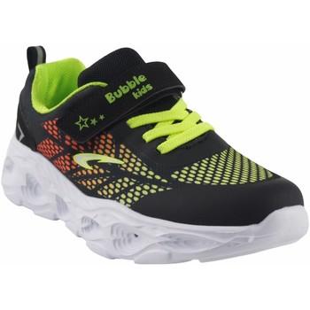 Sapatos Rapaz Multi-desportos Bubble Bobble Sport boy  a3213 preto Verde