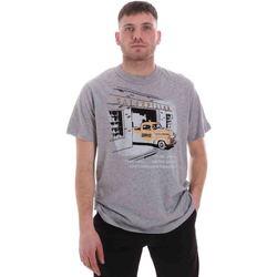 Textil Homem T-Shirt mangas curtas Caterpillar 35CC2510217 Cinzento