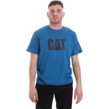 Textil Homem T-Shirt mangas curtas Caterpillar 35CC2510150 Azul