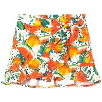 Textil Rapariga Shorts / Bermudas Mayoral  Naranja