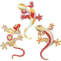 Casa Estatuetas Signes Grimalt 3 Lizard Diferente Em Setembro 3U Multicolor